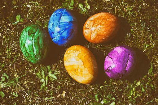 Easter, Egg, Colored, Easter Eggs, Colorful, Spring