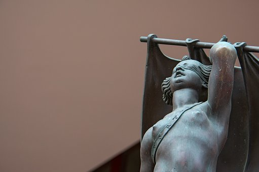 Statue, Bronze, Bronze Statue, Female Figure, Nude, Art