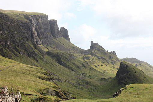 Scotland, Isle Of Skye, Quiraing, Highlands, Solitary