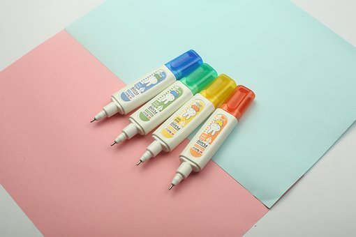 Correction Fluid, Modify, Chenguang, Miffy, Small Fresh