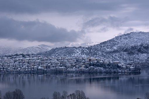 Kastoria, Greece, Nature, Lake, Landscape, Mood, Water