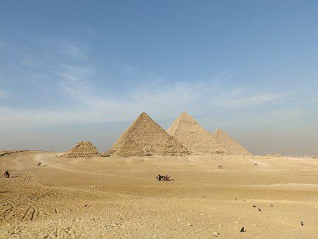 Pyramid, The Great Pyramid Of Giza, Architecture