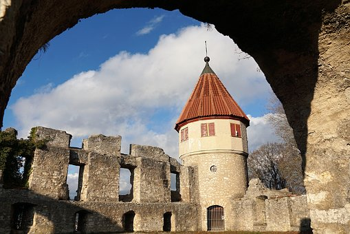 Castle, Tower, Ruin, Middle Ages