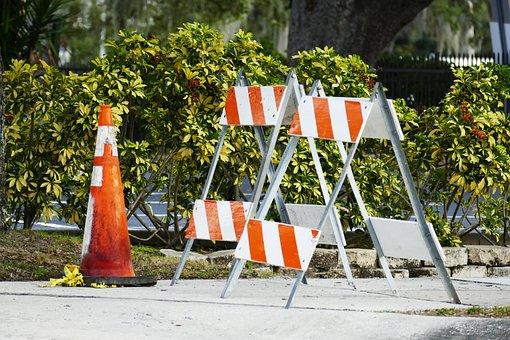 Site, Sidewalk, Barrier, Bake, Lock, Post, Blocking