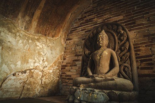 Wat, Temple, Mai, Thailand, Chiang, Old, Buddhism
