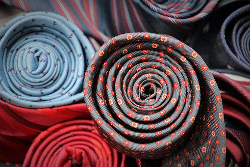 Accessories, Ties, Fabrics, Pattern, Material, Rollers
