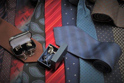 Scarves, Ties, Colorful, Men, Elegant, Style, Textiles