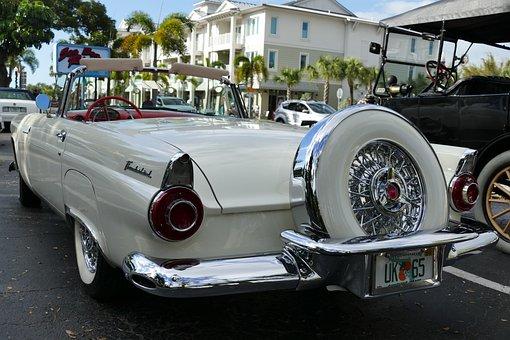Classic, Auto, Thunderbird, Oldtimer, Retro, Vehicle