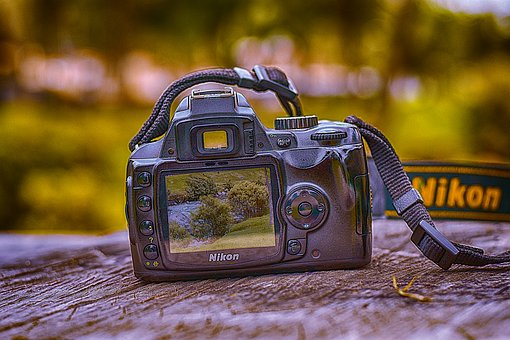 Camera, Vintage, Nikon, Retro, Photography, Photo, Team