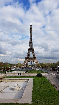 Paris, Eiffel, France, Monument, Architecture, Tower