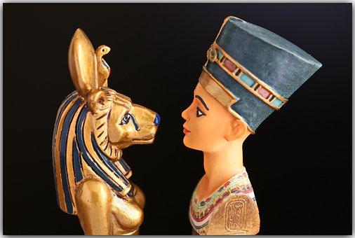Egyptian, Nefertiti, Egypt, Cleopatra, Queen, Girl