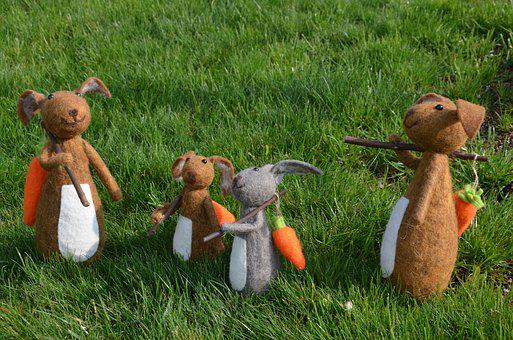 Easter, Hare, Easter Bunny, Easter Decoration