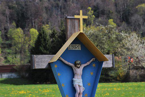 Easter, Cross, Religion, Christ, Christianity, Jesus