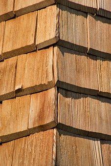 Shingle, Wood Shingles, Facade, Facade Cladding