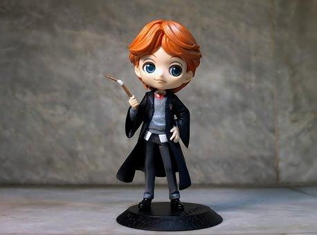 Ron, Ronald, Bilius, Weasley, Potter, Fiction, Toy
