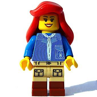 Lego, Minifig, Mini Figure, Play, Game Figure, Doll