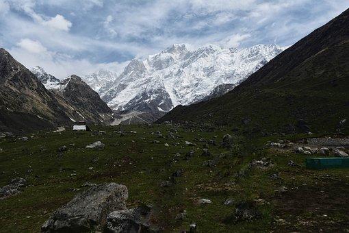 Kedarnath, Mountains, Uttarakhand, Himalayas