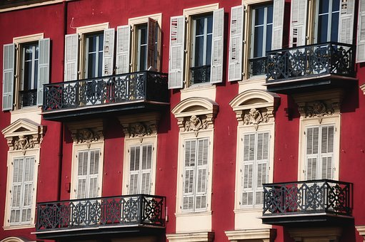 Face, Red, Ochre, Nice, Monaco, Provence, Italy