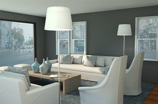 Interior, Furniture, Sofas, Decor, Room, Luxury