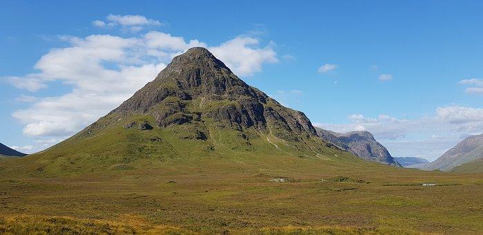 Scotland, Nature, Landscape, Mountains, Hill, Highlands