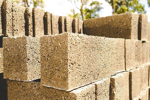Blocks, Building Blocks, Cement Blocks, Set Of Blocks