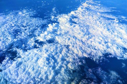 Snowy Mountains, Aircraft, Nature, Sky, Snow, Mountains