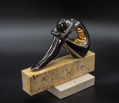 Metal Figure, Statue, Sculpture, Metal, Art, Decorative