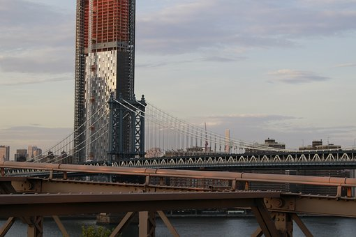 The Brooklyn Bridge, New York, United States