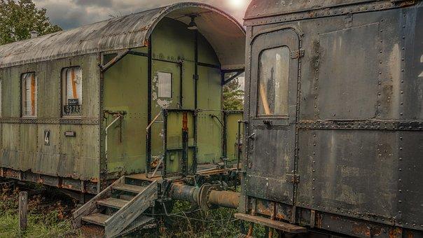 Railway, Dare, Wagon, Stairs, Transport, Vehicle