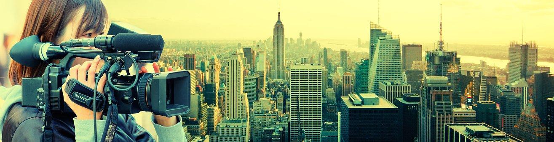 New York, Film Camera, Film, Camera Woman, Video