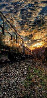 Sky, Reflex, Wagons, Train