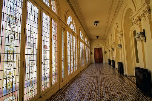 Hall, Windows, Architecture, Window