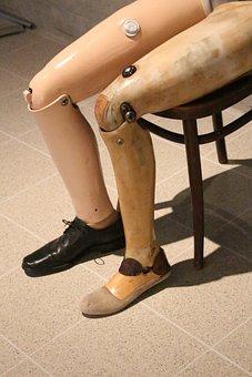 Prosthetic, Artificial Limb, Leg, False Leg, Medical