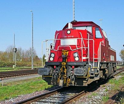 Diesel Locomotive, Switcher, Modern, Br261, Br 261