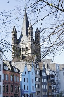 Cologne, Germany, Tower, Town Hall, Building
