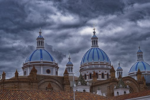 Cathedral, Dome, Church, Religion, City, Architecture