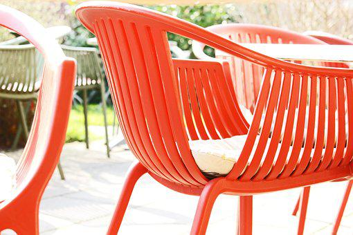 Terrace, Ice Cream Parlour, Summer, Chairs, Sit