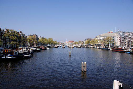 Amsterdam, Canals, City, Dutch, Water, Boat, Houseboat