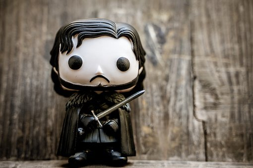 John Snow, Game Of Thrones, Figure, Relay, Series