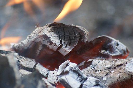 Flames, Bonfire, Fire, Glows, Brand, Flame, Campfire