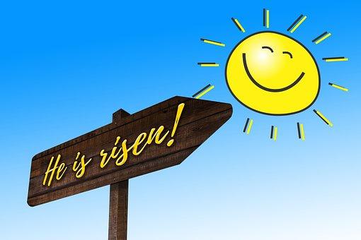 Easter, Resurrection, Christ, Jesus, God, Sun, Joy