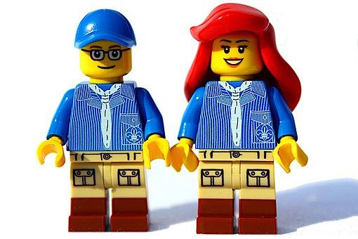 Lego, Mini Figure, Game Figure, Doll, Path Finder