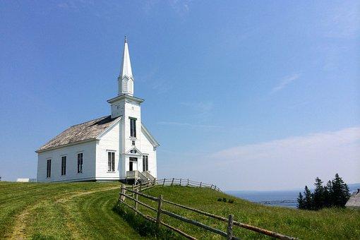 Church, Horizon, Healing, Prayers, Sky, Landscape, Zen