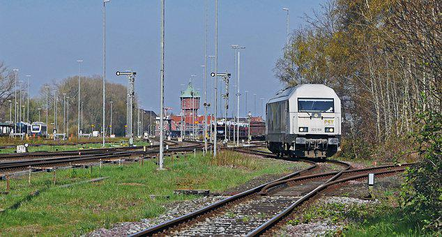Cuxhaven, Hbf, Tracks, Signal Systems, Mechanically
