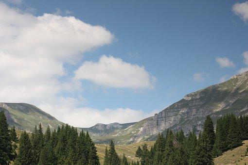 Landscape, Summer, Stone, Babele, Mountain, Bucegi