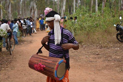 Indian, Tribal, Dance, Rwanda, Native, Traditional