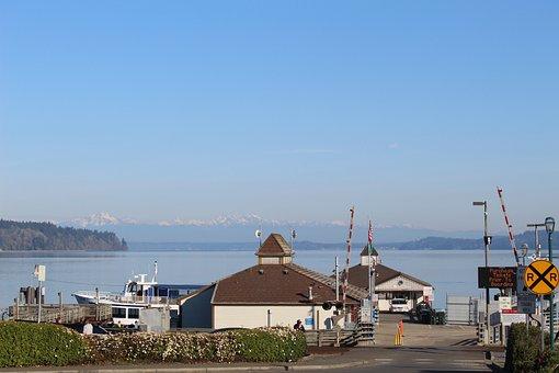 Washington, Puget Sound, Anderson Island, Seattle