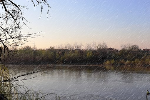 Rain, River, Arad, Romania, Transylavanie, Mures, Water