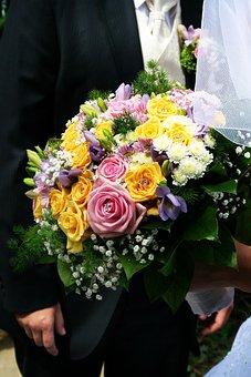 Wedding, Husband, Wife, Shoe, Shoes, A Couple Of