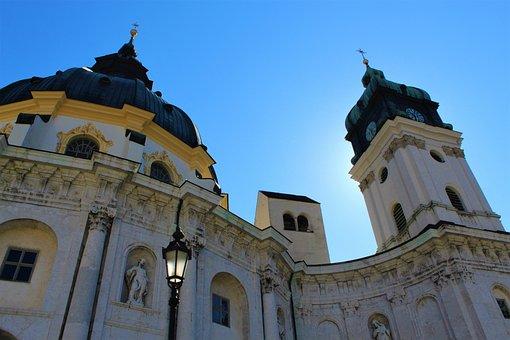 Ettal, Bavaria, Monastery, Baroque, Architecture